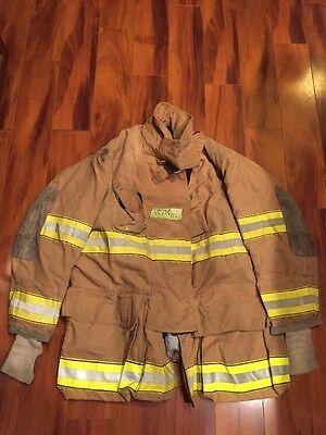 Firefighter Globe Turnout Bunker Coat 45x35 Halloween Costume