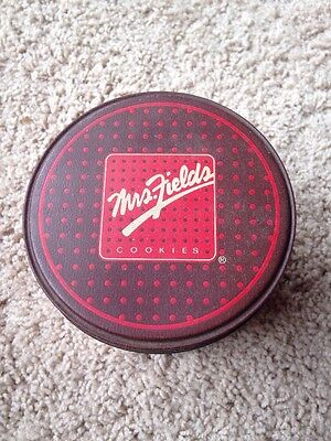 -  Decorative Vintage MRS. FIELDS Cookies Tin Collectible Box Container Vintage