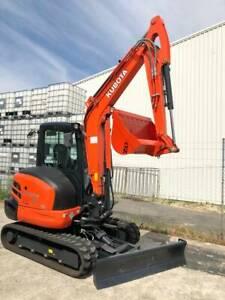 Kubota KX040-4 Angle Blade Excavator Kewdale Belmont Area Preview