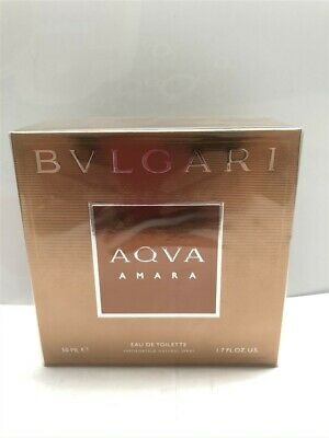 Aqva Amara by Bvlgari 1.7 oz/50 ml Eau de Toilette Spray Men, As Imaged, Sealed