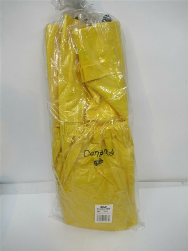 Continental 3175, Yellow Vinyl Caddy Bag for Huskee Trash Cans