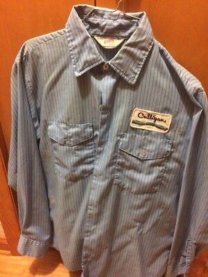 1980's Culligan Work Shirt With Patch And Pants