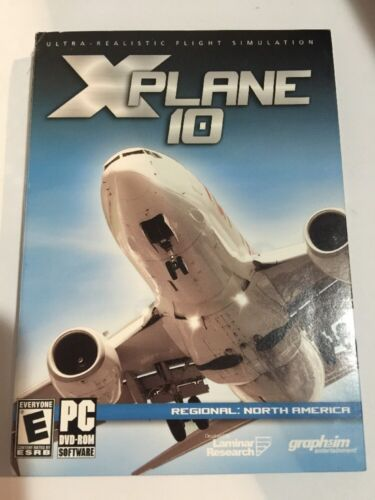 Brand & Sealed X-plane 10 Regional North America - Pc