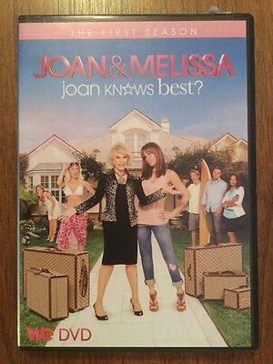 JOAN RIVERS & MELISSA - Joan Knows Best COMPLETE FIRST SEASON Ultra rare