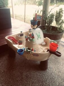 Water Table Little Tikes Pirate Ship