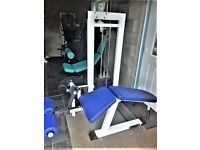 Commercial Gym Leg Curl Hamstring Machine gym body building /weights fitness as new