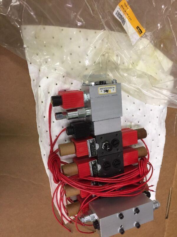 Parker 1506326 Hydraulic Valve Altec Solenoid Manifold 970184144/KE 6