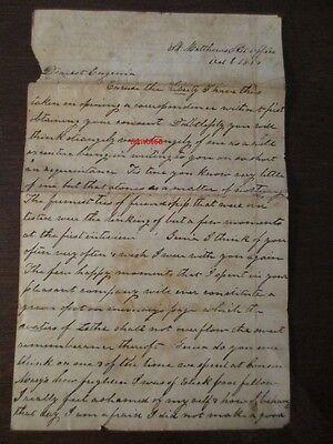 Originaler Brief aus dem Amerikanischen Bürgerkrieg 1864 Handschrift Civil War
