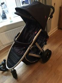 Phil & teds double pushchair