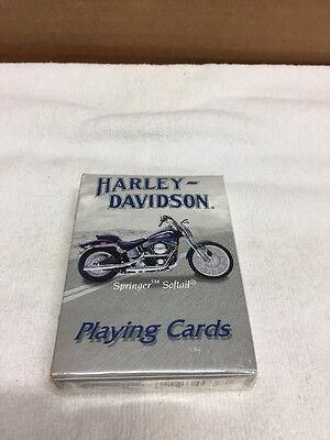New Sealed Deck Of 2001 Harley Davidson Playing Cards