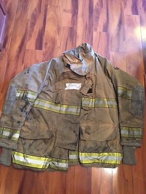 Firefighter Globe Turnout Bunker Coat 50x35 G-xtreme Halloween Costume