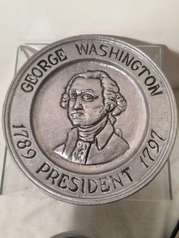 Vintage GEORGE WASHINGTON Collectors Plate