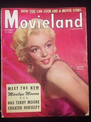 Movieland Magazine With Marilyn Monroe November 1954