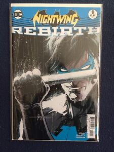 Nightwing Rebirth # 1 DC Comics 2016 NM