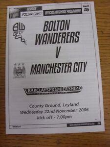 08-11-1994-Bolton-Wanderers-Reserves-v-Manchester-United-Reserves-At-Burnden-Pa