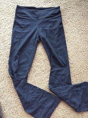 Zobha Women's Evolve Yoga Pants Size 4 phantom heather gray euc
