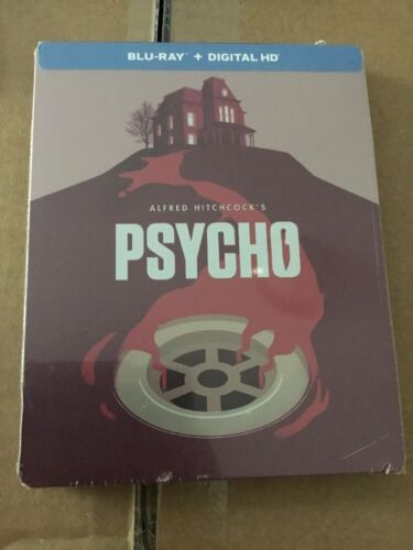 Psycho Steelbook (Blu-ray Disc, 2014, Limited Edition) FACTORY SEALED
