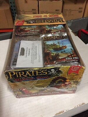 Pirates Of The Mysterious Islands 36-count Booster Display.