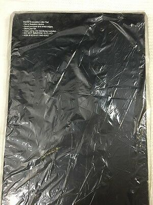 Litter Pad Black 23x72x 2 Stretcher Gurney Warrior Evacuation Torn See Desc.