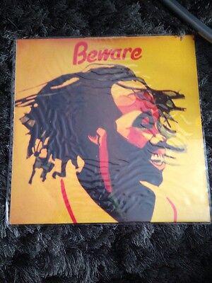 Ultra Rare Yabby You Beware LP Vinyl France 1981 Dub Roots Reggae Label Jah Live