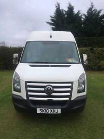 VW Crafter cr35 blue motion campervan 2010 111k FVWSH