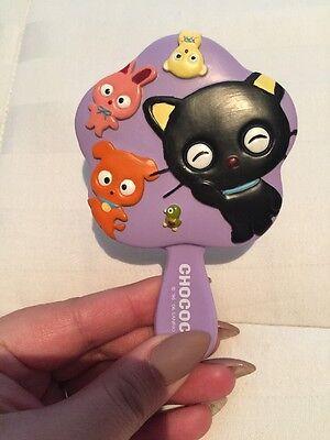 Purple Small Hand Mirror Sanrio Chococat