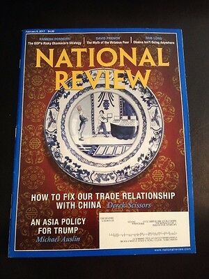 National Review Magazine   February 6  2017 Issue   Asia Policy For Trump