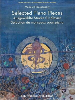 Selected Piano Music - Selected Piano Pieces Sheet Music Piano Book NEW 050600869