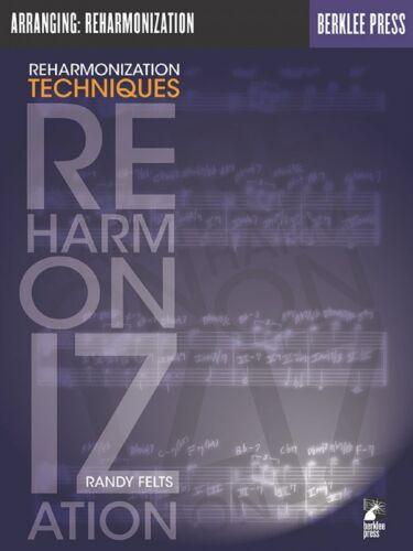 Reharmonization Techniques Berklee Methods Book NEW 050449496