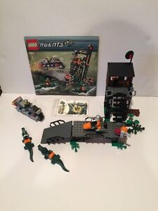 LEGO-AGENTS-MISSION-2-SWAMP-RAID-8632-Stickers-on-original-Sticker    Lego Agents Mission 2