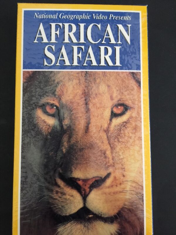 NATIONAL GEOGRAPHIC African Safari VHS BRAND NEW SEALED