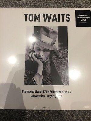TOM WAITS - UNPLUGGED - LIVE AT KPFK STUDIOS 1974 NEW & SEALED 180 GRAM VINYL LP
