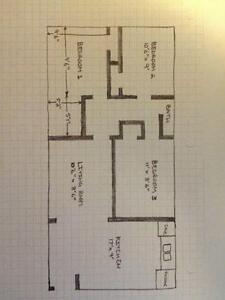 3-BEDROOM APARTMENT - $1150/Month including utilities Kitchener / Waterloo Kitchener Area image 8