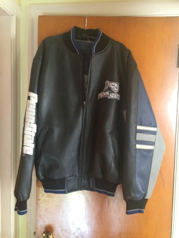 PENN STATE Nittany Lions Full Zip Vintage Jacket. Men's Sz Medium