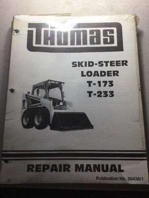 Thomas T-173 T-233 Skid Steer Loader Service Manual