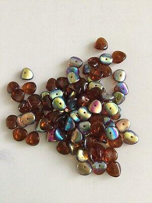 Czech Ripple Beads X 40 (3)