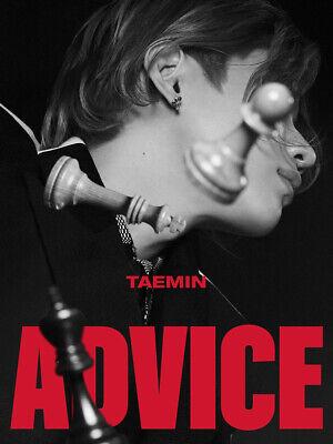 K-POP TAEMIN 3rd Mini Album [Advice] CD+Photobook+Lyrics+P.Card+F.Poster+Post