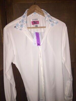 Ladies RJ Classics Prestige Collection Show Shirt Cool Stretch Sz 40 Women's NWT Prestige Collection Show Shirt