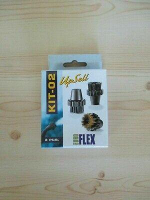 Dampfreiniger Euro - Flex KIT - 02   3 Stück 30 mm Bürsten   KOST-EX  Z19/44 ()