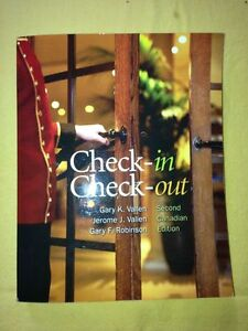 Check-in Check-out Book