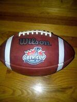 2007 Grey Cup Game Ball CFL Saskatchewan Roughriders