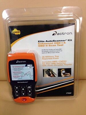 ACTRON CP9690 AUTO SCANNER Kit Obd1 & Obd2 Scan Tool***NEW***