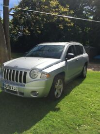 Jeep Compass 4x4 Limited, services history, low mileage