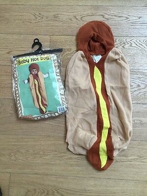 Halloween Baby Hot Dog Costume - Baby Hot Dog Halloween Costumes