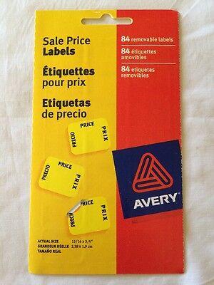 Avery Professional Sale Stickers Estate Garage Sale Flea Market