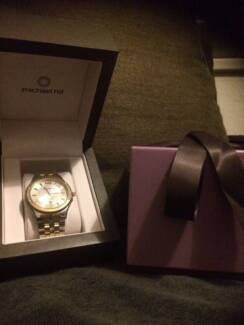 Authentic Beautiful Michael Hill Men's Genuine Diamond Watch