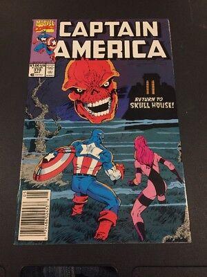 CB1 Captain America #370 (May 1990, Marvel)