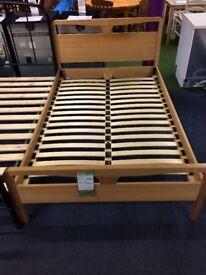 3/4 Wood Bed Base (200 x 129cm)