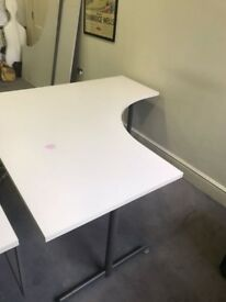 Office Desk 3 available. Right side desk and left side desk. Delivery possible £40 each