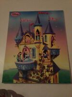 Disney Princess picture illuminated 10x13 in like new condition!